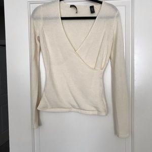 100% cashmere ballerina sweater